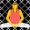 Yoga Pose Gymnastic Icon