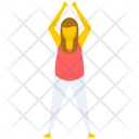 Yoga Pose Exercise Icon