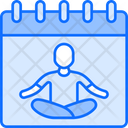 Yoga Schedule Icon