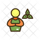 Yoga Teacher Icon