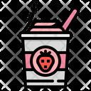 Yogurt Sweet Dessert Icon