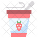 Yogurts Milky Dessert Icon