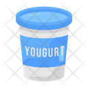 Yogurt Dairy Product Cream Icon
