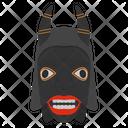 Yohure Mask Tribal Mask Cultural Mask Icon