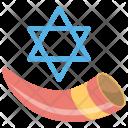 Yom Kippur Judaism Icon