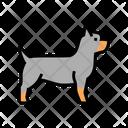 Yorkshire Terrier Rottweiler Icon
