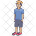 Young Boy Boy Young Man Icon