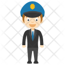 Young Cop Animated Icon