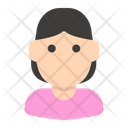 Avatar Woman People Icon