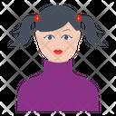 Girl Female Avatar Icon