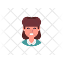 Young Lady Lady Woman Icon