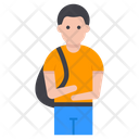 Young Student Avatar Icon