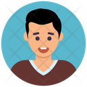 Youngster Colorful Icon Design Icon