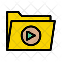 Video Folder Multimedia Icon
