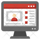 Youtube Video Social Network Icon