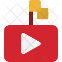 Youtube Flag Video Flag Country Icon