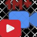 Youtube Video 1 M Views Views View Icon