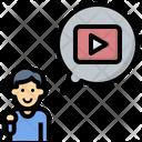 Youtuber Icon