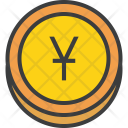 Yuan Chinese Currency Icon