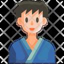 Yukata Man Male Icon