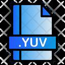 Yuv Extension File Icon