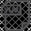Yuv File Document File Icon