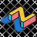 3 D Z 3 D Letter 3 D Alphabet Icon