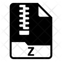 Z File Document Icon