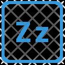 Z Latin Letter Icon