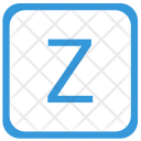 Z letter Icon