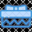 Zig Zag Gift Box Icon