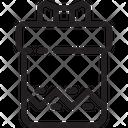 Zag Long Gift Icon