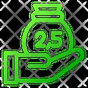 Zakah Infaq Alms Icon