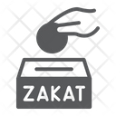 Zakat Ramadan Donate Icon