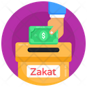 Donation Box Charity Box Zakat Icon