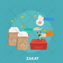 Zakat Food Charity Icon