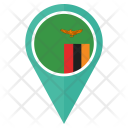 Zambia Flag Icon