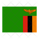 Zambia Flag Flags Icon