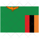 Flag Country Zambia Icon