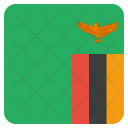 Zambia National Country Icon