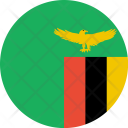 Zambia Flag World Icon