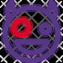 Zany Devil Icon