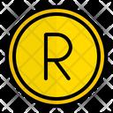 Zar Rand South Africa Icon