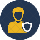 Zassent Man Compliance Officer Concession Icon