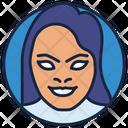 Zatanna Starfire Girl Villain Icon