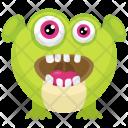 Happy Zazzle Green Icon