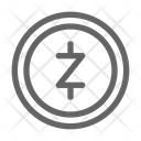 Zcash Cryptocurrency Blockchain Icon