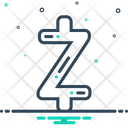 Zcash Coin Cryptocurrency Icon