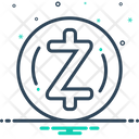 Zcash Zec Coin Icon
