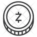 Cryptocurrency Digital Zec Icon
